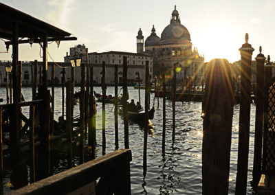 sun and water venice